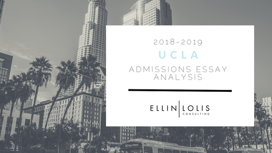 2018/19 UCLA Anderson Essay Analysis [Sample Essays Included]