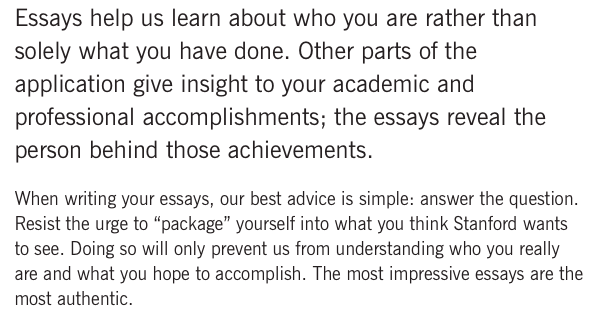 Stanford essay tips how to get accepted into stanford