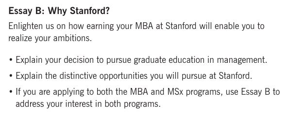 2018/19 Stanford GSB Essay Analysis [Sample Essays Included]