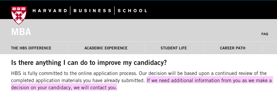 how to successfully navigate the mba waitlist   sample