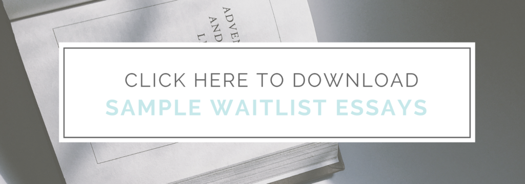 How to Successfully Navigate the MBA Waitlist + Sample
