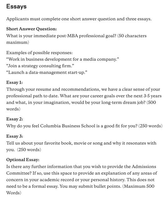 20 21 Columbia Admissions Essay Analysis Sample Essays