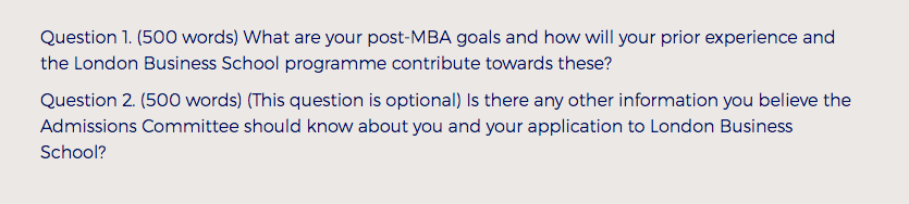 Mba Admission Essay Services Lbs