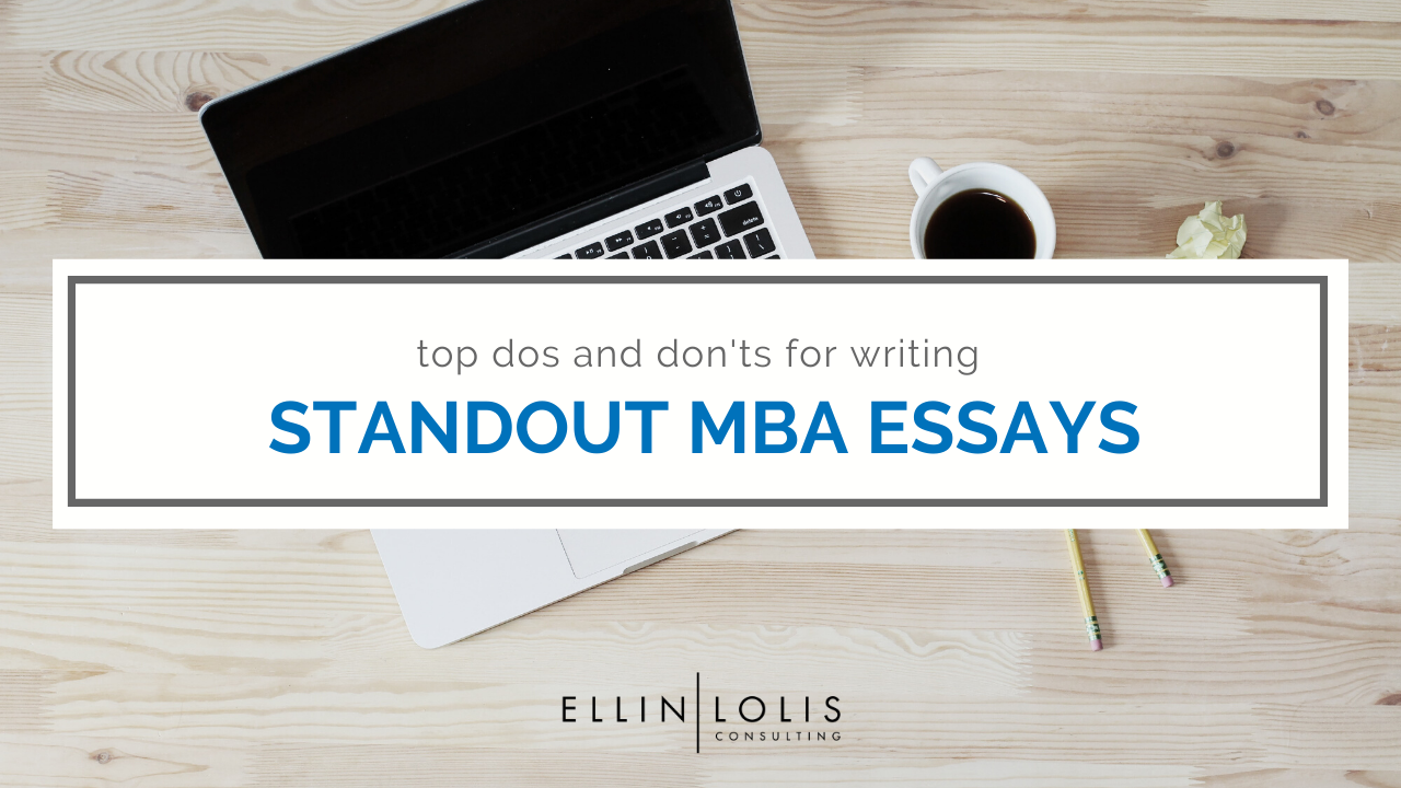 Mba essay consulting